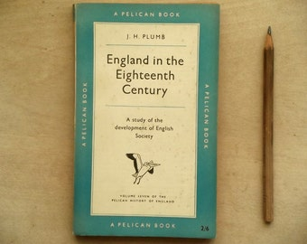 British history penguin book England in the Eighteenth Century