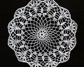 Vintage crochet doilies - set of six