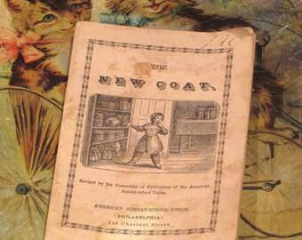 Antique 1840's Moral Lesson Childrens Book