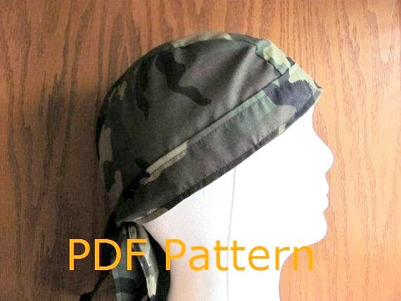 Enterprising image with free printable doo rag patterns