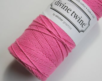 Baker's Twine - Deep Pink Divine Twine - 20 yards