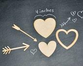 DIY Wooden Valentine Heart Cutouts