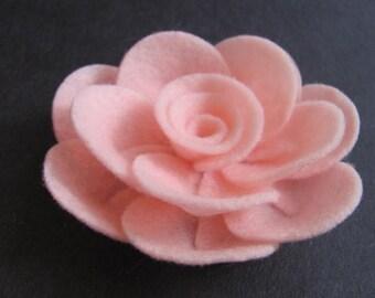 Felt Rose Pattern PENNY ROSE No Sew Felt Flower Tutorial Brooch Pattern Hairclip Pattern Headband PDF Tutorial ePattern eBook How To