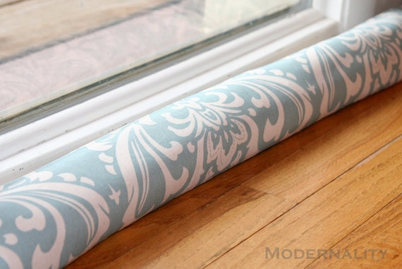 Items similar to sale blue draft excluder modern draft for Door air blocker