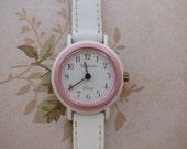 Swiss made ladies watch by COFRAM (pink bezel)