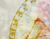 Ferris Wheel 8x8 Print