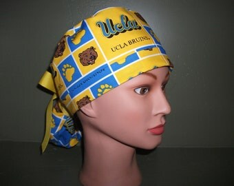 NCAA UCLA ponytail scrub cap