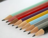12 twelve personalized custom engraved pencil pack. 1-2 quotes. back to school supplies.