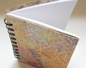 Map Patterned Spiral Notebook