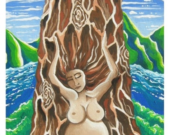 """Triple Goddess Collection, set of 3 Greeting Cards 4.75"""" x 6.24"""""""