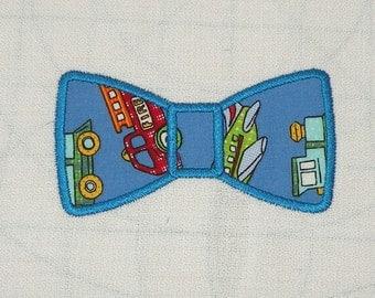 Bow Tie Machine Embroidery Applique Design - 4X4 & 5X7 Hoop