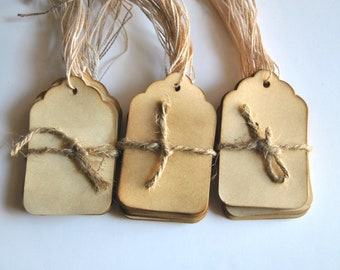 150 Coffee stained favor gift tags . vintage inspired tags . wishing tree card . primitive . rustic . wedding . scrapbooking