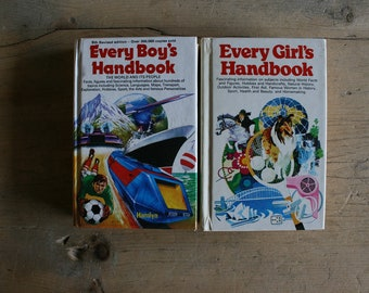 Retro Boy's & Girl's Handbooks - Info on everything from early space travel to riding a horse...