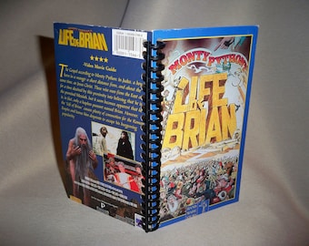 Monty Python Life of Brian VHS Notebook