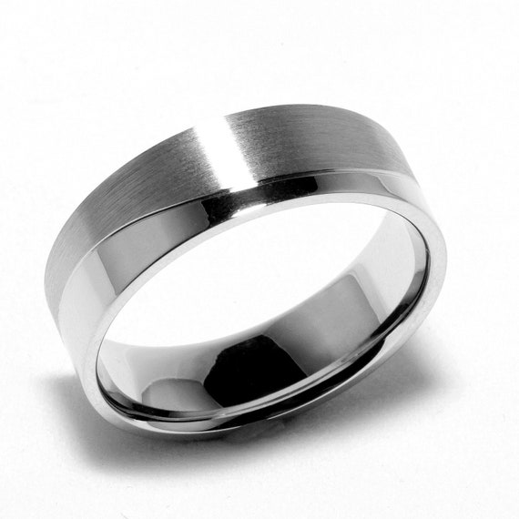 mens sterling silver wedding band ring for by