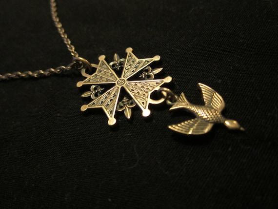 beautiful sterling james avery huguenot cross by
