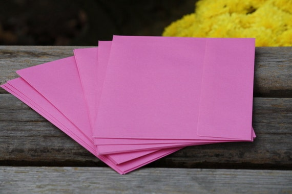 12 pink a7 envelopes perfect for 5x7 invitations pretty pink. Black Bedroom Furniture Sets. Home Design Ideas