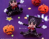 3D Pumpkin and Magician Swarovski Beads Beading Pattern PDF