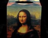 Tissue Box Cover Mona Lisa