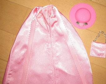 Handmade Barbie Cape, Pink
