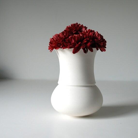 Porcelain Vase - Handmade Bud Vase