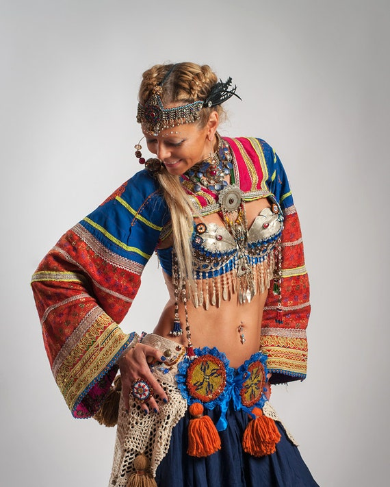 Tribal Belly Dance Top Tribal
