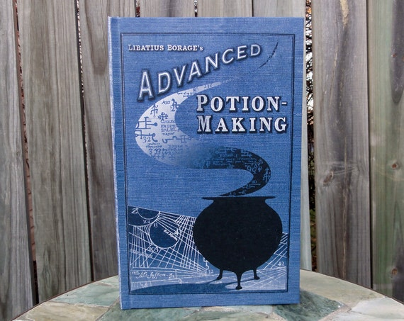 Leaky Con Potions Book - Advanced Potions - Harry Potter Journal - Blank Book
