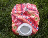 Spring Floral  xs size dog diaper in season diaper panty