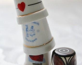 Porcelain Thimbles Collectible