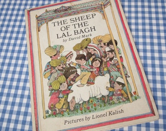 the sheep of the lal bach, vintage 1967 children's book