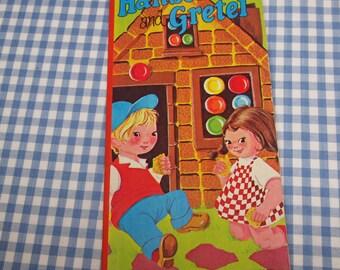 hansel and gretel, vintage 1970s children's book