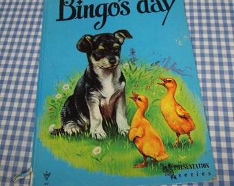 bingo's day, vintage 1970s children's book