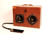 Little Brownie Vintage Suitcase Stereo Music Machine with Bluetooth