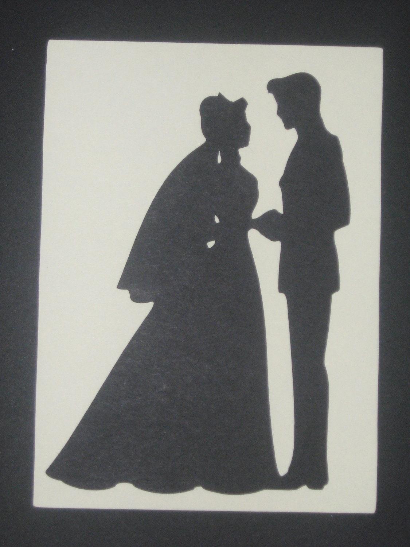 fairytale cinderella silhouette wedding invitations save the