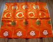 Kimono maru OBI fabric formal girl floral