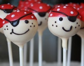 Pirate Cake Pops