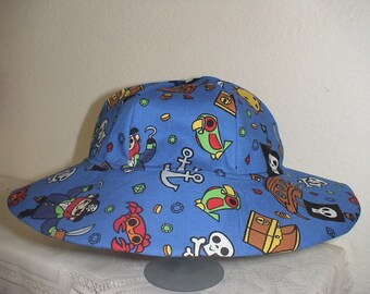 Pirates Infant And Toddler Sun Hat