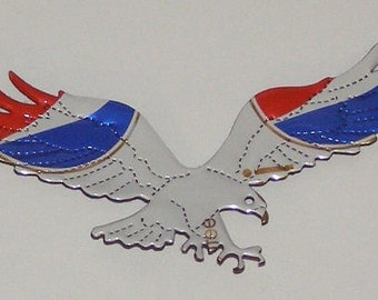 Eagle Magnets - White, Gold, Blue, or Silver - Pepsi Cola Soda Can (Replica)