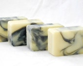 Shampoo Soap - 5 oz Handcrafted Cold Process Soap, Vegan, Tea Tree, Lavender, Peppermint