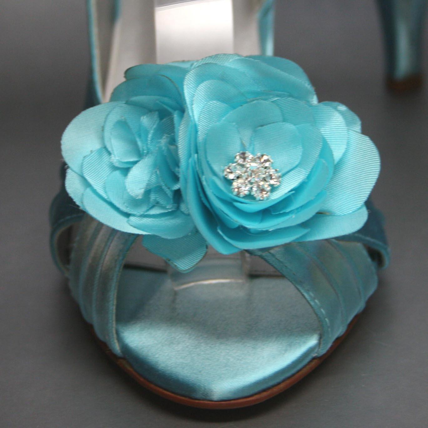 Items Similar To Wedding Shoes -- Tiffany Blue Slingback