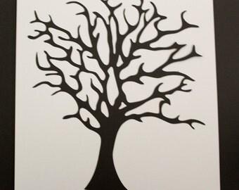 HERITAGE or HALLOWEEN   Die Cut    TREE