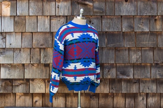 native aztec TREND BASICS pull over crewneck sweater
