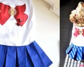 Sailor Pooch Iron On - Medium
