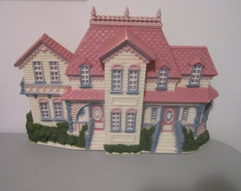 Vintage Victorian House 1989 Burwood Product Scene Wall Hanging