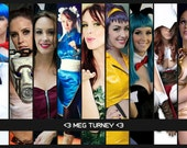 Meg Turney Cosplay Collage