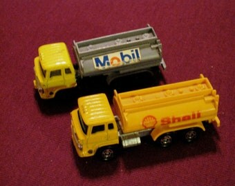 "Vintage Die Cast ""Pipeline on Wheels"" Collection - Oil Trucks"
