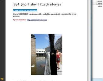 384 Short short Czech stories (Zine)