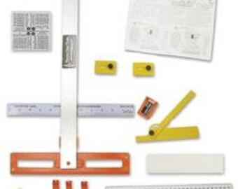 SALE - Morton PORTABLE GLASS Shop - Professional Glass Cutter Tools