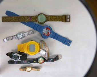 8 watches most of them working