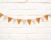 Prince and Princess Bunting, Gold and Grey,  Wedding Bunting, Wedding Shower, Baby Decoration, Baby Bunting
